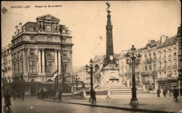 Bruxelles : SBP : Place De Brouckère - Avenues, Boulevards