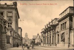 Bruxelles : Rue De La Régence Et Palais Des Beaux Arts - Lanen, Boulevards