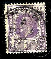 SIERRA LEONE 109° 1p Violet George V(10% De La Cote + 0,15) - Sierra Leone (...-1960)