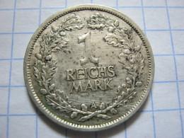 1 Reichsmark 1925 (A) - [ 3] 1918-1933 : Weimar Republic