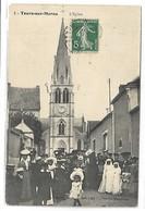 TOURS SUR MARNE - L'Eglise - France