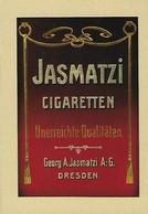 JASMATZI  Cigaretten 2 Scans - Reklame