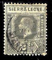 SIERRA LEONE 111° 2p Gris George V(10% De La Cote + 0,15) - Sierra Leone (...-1960)