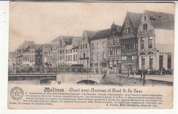 Belgique - ANV - Malines - Mechelen - Quai Aux Avoines Et Pont De La Gare - Malines