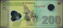 NICARAGUA - 200 Cordobas Res.12.09.2007 {Polymer} UNC P.205 A - Nicaragua