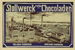 STOLLWERK CHOKOLADEN   2 Scans - Reklame