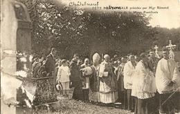 Cpa Chatelneuf Fete Patronale Presidée Par Mgr Remond - France