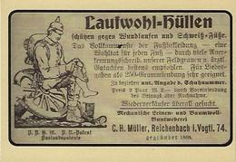 LAUFWOHL HÜLLEN  2 Scans - Reklame