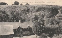 Rare Cpa Monterfil La Vallée De L'étunel Et Ferme Du Moulin - Altri Comuni
