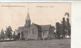Rare Cpa  La Nouaye L'église - Altri Comuni