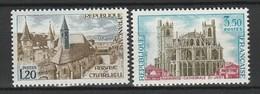 FRANCE 1972 YT N° 1712 Et 1713 ** - Nuevos