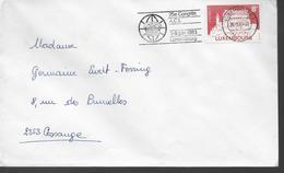 LUXEMBOURG  Lettre  1983 A C I Vianden - Christianisme