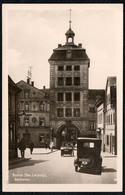 6651 - Borna Bz. Leipzig - Reichstor - Trinks & Co - Fahrzeug Auto Car Oldtimer Kennzeichen - Borna
