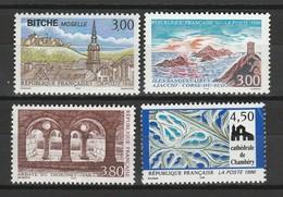 FRANCE 1996 YT N° 3018 à 3021 ** - Nuevos