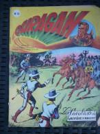 Ouragan Mensuel N°19: Les Cavaliers De La Rivière D'argent/ Editions Artima,1956 - Bücher, Zeitschriften, Comics