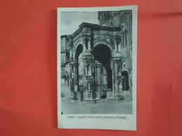 ITALIE  Siena  Chapelle Extérieur De L'édifice Municipal - Siena