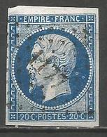 FRANCE - Oblitération Petits Chiffres LP 1177 ENNEZAT (Puy-de-Dôme) - 1849-1876: Période Classique