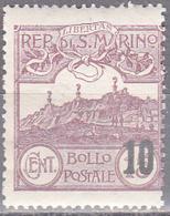 SAN MARINO     SCOTT NO. 188      MNH     YEAR  1941 - Unused Stamps