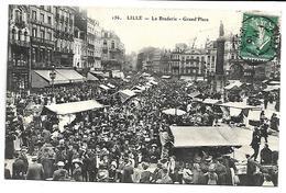 LILLE - La Braderie, Grand'Place - Lille
