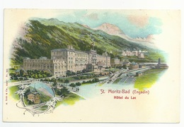 ST. MORITZ-BAD (Engadin) - Switzerland