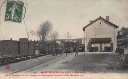 CPA 148 - MONTFAUCON-du-VELAY ( Hte-Loire ) - La Gare - Montfaucon En Velay