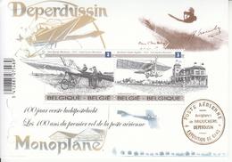2013 Belgium Aviation Deperdussin Souvenir Sheet  MNH @ Below Face Value - Airplanes