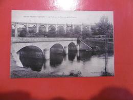 D 87 - Saint Priest Taurion - Le Pont Sur Le Taurion Et Le Viaduc - Saint Priest Taurion