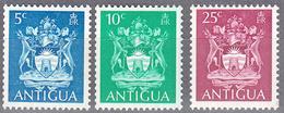 ANTIGUA     SCOTT NO.  228b-30b    MNH     YEAR  1973     WMK 314 SIDEWAYS - Antigua & Barbuda (...-1981)