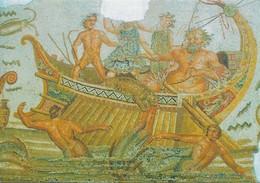 Tunisie Musée Du Bardo Dionysos Chatiant Les Pirates (2 Scans) - Tunesië