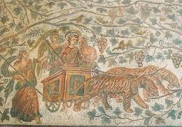 Tunisie Musée Du Bardo Triomphe De Dionysos (2 Scans) - Tunesië