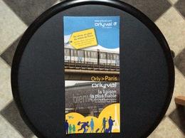 PLAN RATP ORLY VAL *Orly>Paris  DÉCEMBRE 2015 - Europe