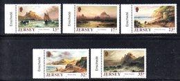 JERSEY 1989 - Serie Completa N. 490/494  MNH  *** (2380A) - Jersey