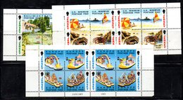 JERSEY 1993 - Serie Completa N. 589/593 In Blocco  MNH  *** (2380A) - Jersey
