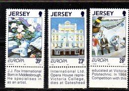 JERSEY 1993 - Serie Completa N. 606/608  MNH  *** (2380A) Europa Cept - Jersey