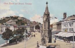 TORQUAY -CLOCK TOWER AND STRAND - Torquay