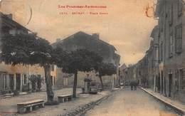 CPA - Les Pyrénées Ariégeoises - SAURAT - PLACE CONTY - France