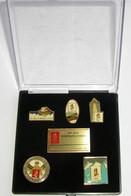 Coffret De 5 Pin's Jeux Olympiques D'hiver Albertville 1992  Olympic Winter Games - Jeux Olympiques