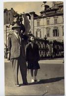 Uomo - Con Bambina - Foto - Formato Piccolo Non Viaggiata – E 13 - Uomini