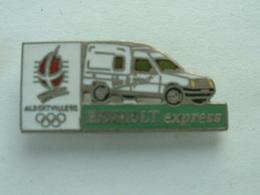 PIN'S RENAULT EXPRESS - J.O ALBERTVILLE 92 - Renault