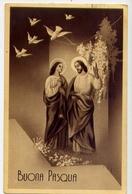 Buona Pasqua - Formato Piccolo Viaggiata Mancante Di Affrancatura – E 13 - Cartoline