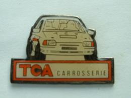 PIN'S VOITURE DE RALLYE - TCA CAROSSERIE - Rallye