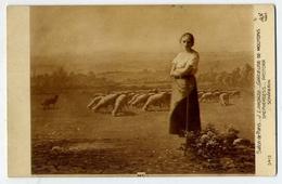 Salon De Paris - J.lorenze Gardeuse De Moutons - Shepherdess - Pastora Schafern - Formato Piccolo Non Viaggiata – E 13 - Cartoline