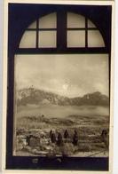 Visioni Ed Incanti Augurali Sulle Nostre Alpi Dalla Finestra D'un Rifugio - Formato Piccolo Non Viaggiata – E 13 - Cartoline