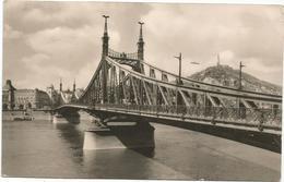 W4032 Budapest - Szabadsag Hid / Viaggiata - Ungheria