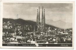 W4036 Barcelona - Templo De La Sagrada Familia / Viaggiata - Barcelona
