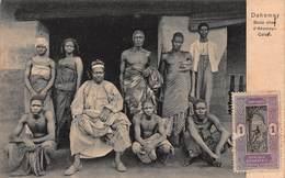 CPA DAHOMEY - Bada Chez D' Abomey Calari - Dahomey