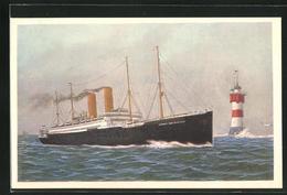 AK Passagierschiff George Washington, Norddeutscher Lloyd Bremen - Piroscafi
