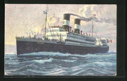 AK Passagierschiff Giulio Cesare, Navigazione Generale Italiana Genova - Piroscafi