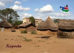 South Sudan Kapoeta Landscape Huts  New Postcard Südsudan AK - Cartoline