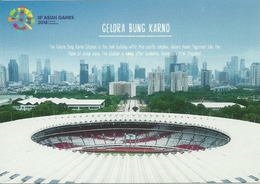 STADIUM POSTCARD STADIO STADION STADE ESTADIO JAKARTA - Stadiums